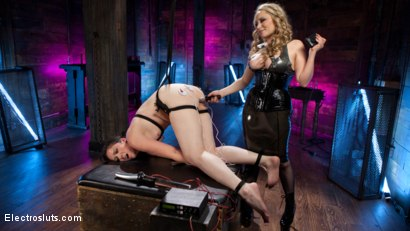 Girlfriends For The Day: Pain Slut Delightfully Electro Tormented