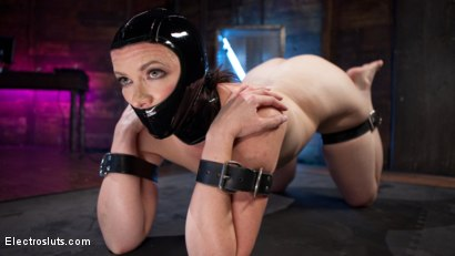 Photo number 1 from Girlfriends For The Day: Pain Slut Delightfully Electro Tormented shot for Electro Sluts on Kink.com. Featuring Pink and Aiden Starr in hardcore BDSM & Fetish porn.