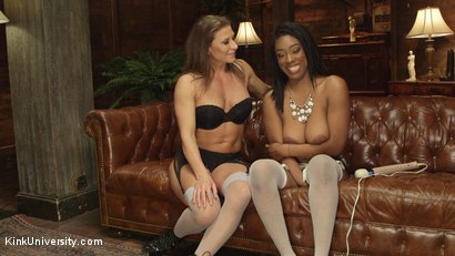 Photo number 19 from Introduction to Anal Toys shot for Kink University on Kink.com. Featuring Ariel X and Lisa Tiffian in hardcore BDSM & Fetish porn.