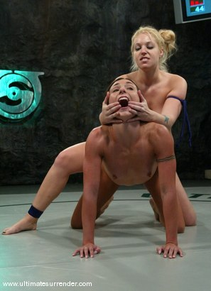 Photo number 15 from The Amazon (3-5)<br>The Gymnast (1-4) shot for Ultimate Surrender on Kink.com. Featuring Hollie Stevens and Wenona in hardcore BDSM & Fetish porn.