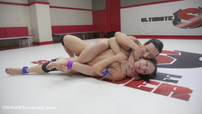 Photo number 6 from Wenona Wants revenge on Lea Lexis. Wrester Utterly Destroys the other shot for Ultimate Surrender on Kink.com. Featuring Lea Lexis and Wenona in hardcore BDSM & Fetish porn.