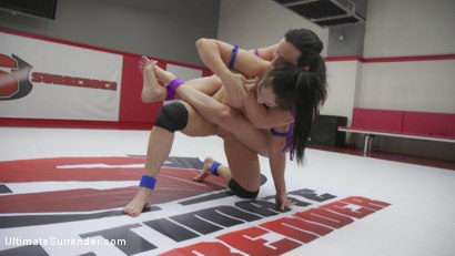 Photo number 7 from Wenona Wants revenge on Lea Lexis. Wrester Utterly Destroys the other shot for Ultimate Surrender on Kink.com. Featuring Lea Lexis and Wenona in hardcore BDSM & Fetish porn.