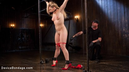Photo number 2 from Sexy Blonde Whore is Brutalized in Grueling Bondage shot for Device Bondage on Kink.com. Featuring Dahlia Sky and The Pope in hardcore BDSM & Fetish porn.