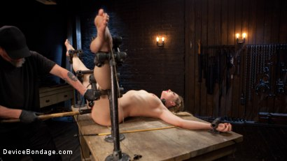 Photo number 13 from Sexy Blonde Whore is Brutalized in Grueling Bondage shot for Device Bondage on Kink.com. Featuring Dahlia Sky and The Pope in hardcore BDSM & Fetish porn.