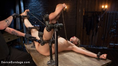 Photo number 10 from Sexy Blonde Whore is Brutalized in Grueling Bondage shot for Device Bondage on Kink.com. Featuring Dahlia Sky and The Pope in hardcore BDSM & Fetish porn.