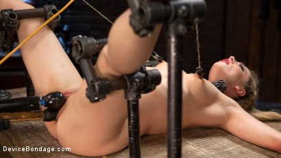 Photo number 12 from Sexy Blonde Whore is Brutalized in Grueling Bondage shot for Device Bondage on Kink.com. Featuring Dahlia Sky and The Pope in hardcore BDSM & Fetish porn.