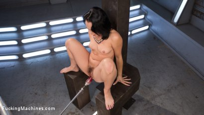 Photo number 12 from Kristina Rose Fucked in her Pussy and ASS!!! shot for Fucking Machines on Kink.com. Featuring Kristina Rose in hardcore BDSM & Fetish porn.