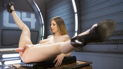 Photo number 3 from All Natural European Bombshell Gets Machine Fucked in the Ass!! shot for Fucking Machines on Kink.com. Featuring Stella Cox in hardcore BDSM & Fetish porn.
