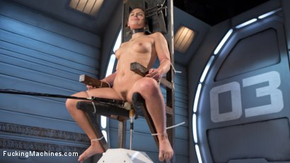 Photo number 8 from Bondage Slut Gets Fucked Senseless in Rope Bondage shot for Fucking Machines on Kink.com. Featuring Abella Danger in hardcore BDSM & Fetish porn.