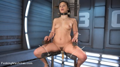 Photo number 9 from Bondage Slut Gets Fucked Senseless in Rope Bondage shot for Fucking Machines on Kink.com. Featuring Abella Danger in hardcore BDSM & Fetish porn.