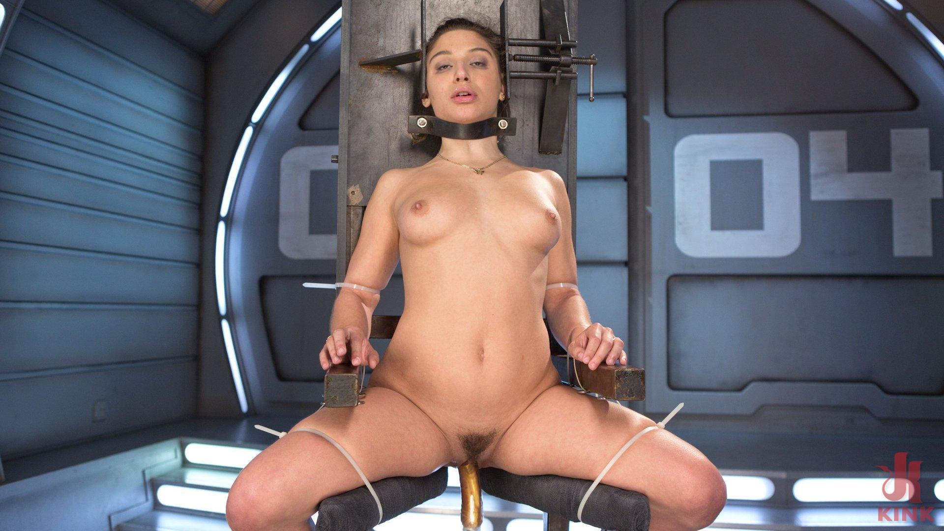 Photo number 10 from Bondage Slut Gets Fucked Senseless in Rope Bondage shot for Fucking Machines on Kink.com. Featuring Abella Danger in hardcore BDSM & Fetish porn.