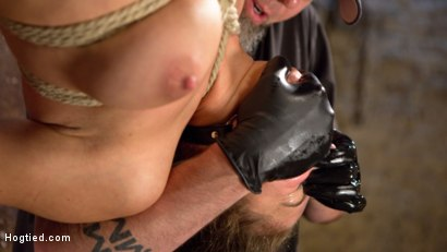 Photo number 12 from Masochistic Pain Slut in Bondage, Tormented, and Used for Her Holes shot for Hogtied on Kink.com. Featuring Abella Danger and The Pope in hardcore BDSM & Fetish porn.