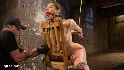 Photo number 8 from Masochistic Pain Slut in Bondage, Tormented, and Used for Her Holes shot for Hogtied on Kink.com. Featuring Abella Danger and The Pope in hardcore BDSM & Fetish porn.