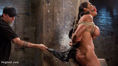 Photo number 13 from Big Tits Bound, Tormented Body, and Pussy and Face Fucked shot for Hogtied on Kink.com. Featuring Maxine X in hardcore BDSM & Fetish porn.