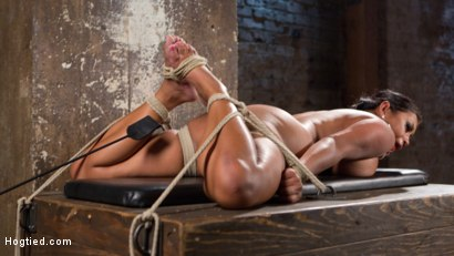 Photo number 10 from Big Tits Bound, Tormented Body, and Pussy and Face Fucked shot for Hogtied on Kink.com. Featuring Maxine X in hardcore BDSM & Fetish porn.