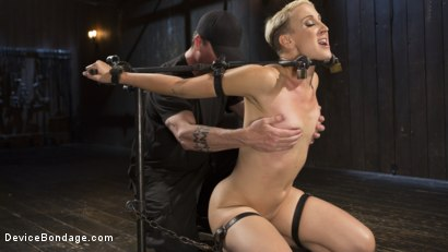 Photo number 5 from Teacher's Pet shot for Device Bondage on Kink.com. Featuring Dylan Ryan and The Pope in hardcore BDSM & Fetish porn.