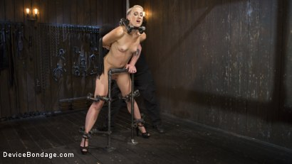 Photo number 2 from Teacher's Pet shot for Device Bondage on Kink.com. Featuring Dylan Ryan and The Pope in hardcore BDSM & Fetish porn.