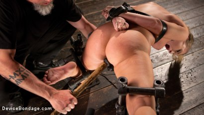 Photo number 13 from Punishing the New Slut shot for Device Bondage on Kink.com. Featuring Harley Jade and The Pope in hardcore BDSM & Fetish porn.
