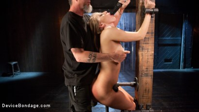 Photo number 1 from Punishing the New Slut shot for Device Bondage on Kink.com. Featuring Harley Jade and The Pope in hardcore BDSM & Fetish porn.