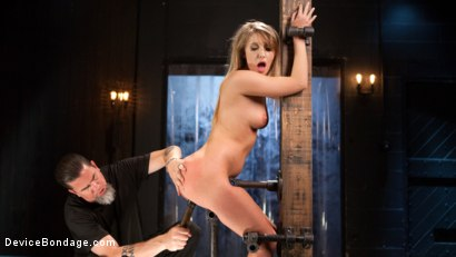 Photo number 2 from Punishing the New Slut shot for Device Bondage on Kink.com. Featuring Harley Jade and The Pope in hardcore BDSM & Fetish porn.
