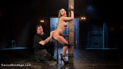 Photo number 4 from Punishing the New Slut shot for Device Bondage on Kink.com. Featuring Harley Jade and The Pope in hardcore BDSM & Fetish porn.