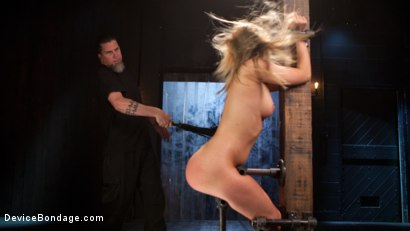 Photo number 5 from Punishing the New Slut shot for Device Bondage on Kink.com. Featuring Harley Jade and The Pope in hardcore BDSM & Fetish porn.