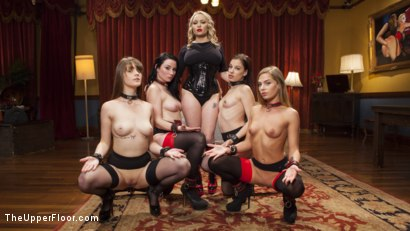 Photo number 1 from 100 Orgasm Slave Girl Orgy shot for The Upper Floor on Kink.com. Featuring Aiden Starr, Veruca James, Mickey Mod, Marco Banderas, Bobbi Dylan, Nora Riley and Sydney Cole in hardcore BDSM & Fetish porn.