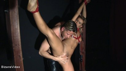 Photo number 4 from Raw Devotion: The Rack shot for Bizarre Video on Kink.com. Featuring  in hardcore BDSM & Fetish porn.