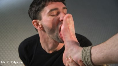Photo number 8 from Hot Stud Trapped at the Glory Hole shot for Men On Edge on Kink.com. Featuring Kyler Ash in hardcore BDSM & Fetish porn.