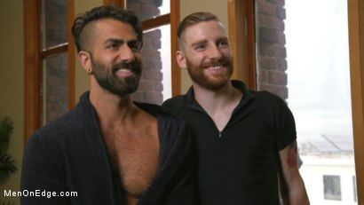 Photo number 15 from World Premiere - The Forbidden Tango shot for Men On Edge on Kink.com. Featuring Adam Ramzi in hardcore BDSM & Fetish porn.