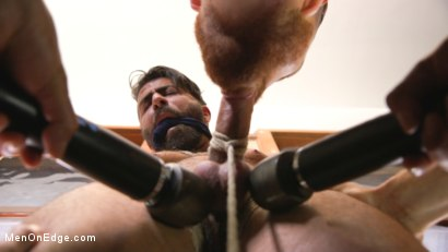 Photo number 3 from World Premiere - The Forbidden Tango shot for Men On Edge on Kink.com. Featuring Adam Ramzi in hardcore BDSM & Fetish porn.