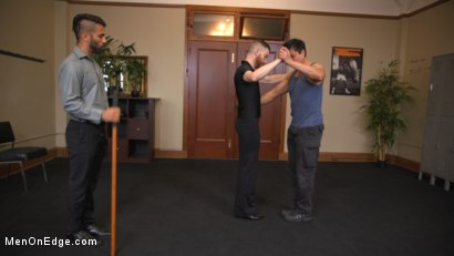Photo number 7 from World Premiere - The Forbidden Tango shot for Men On Edge on Kink.com. Featuring Adam Ramzi in hardcore BDSM & Fetish porn.
