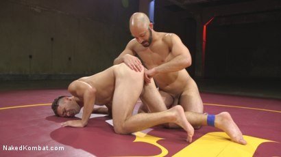 Photo number 9 from Hot Newcomer Max Woods takes on undefeated Dylan Strokes shot for Naked Kombat on Kink.com. Featuring Max Woods and Dylan Strokes in hardcore BDSM & Fetish porn.