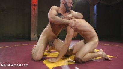 Photo number 3 from Hot Newcomer Max Woods takes on undefeated Dylan Strokes shot for Naked Kombat on Kink.com. Featuring Max Woods and Dylan Strokes in hardcore BDSM & Fetish porn.