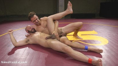 Photo number 6 from Hot Newcomer Max Woods takes on undefeated Dylan Strokes shot for Naked Kombat on Kink.com. Featuring Max Woods and Dylan Strokes in hardcore BDSM & Fetish porn.