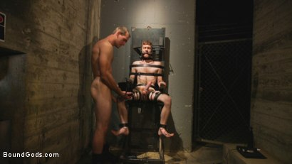 Photo number 4 from C E L L  2 shot for Bound Gods on Kink.com. Featuring Jonah Marx and Seamus O'Reilly in hardcore BDSM & Fetish porn.