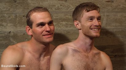 Photo number 15 from C E L L  2 shot for Bound Gods on Kink.com. Featuring Jonah Marx and Seamus O'Reilly in hardcore BDSM & Fetish porn.