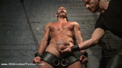 Photo number 14 from Alexander Gustavo Withstands Insane Levels of Torment shot for 30 Minutes of Torment on Kink.com. Featuring Alexander Gustavo in hardcore BDSM & Fetish porn.