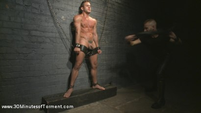 Photo number 3 from Alexander Gustavo Withstands Insane Levels of Torment shot for 30 Minutes of Torment on Kink.com. Featuring Alexander Gustavo in hardcore BDSM & Fetish porn.