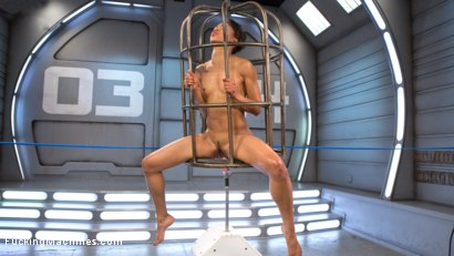Photo number 16 from Porn All-Star Gets Her First Taste of Fucking Machines and Squirts Everywhere! shot for Fucking Machines on Kink.com. Featuring Nikki Darling in hardcore BDSM & Fetish porn.