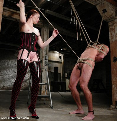 Photo number 2 from The Final Chapter shot for Men In Pain on Kink.com. Featuring Claire Adams and totaleurosex in hardcore BDSM & Fetish porn.