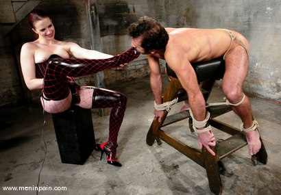 Photo number 13 from The Final Chapter shot for Men In Pain on Kink.com. Featuring Claire Adams and totaleurosex in hardcore BDSM & Fetish porn.