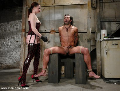 Photo number 5 from The Final Chapter shot for Men In Pain on Kink.com. Featuring Claire Adams and totaleurosex in hardcore BDSM & Fetish porn.