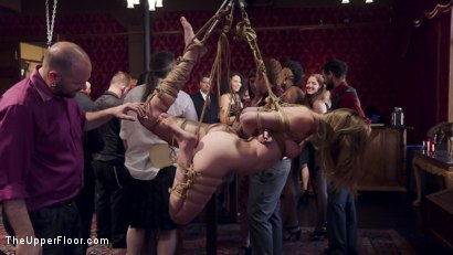 Photo number 13 from Innocent Girl Made Depraved Anal Slave shot for The Upper Floor on Kink.com. Featuring Nora Riley, Charlotte Cross and Seth Gamble in hardcore BDSM & Fetish porn.