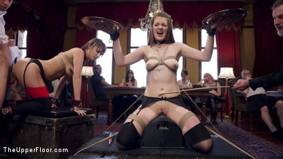 Photo number 6 from Innocent Girl Made Depraved Anal Slave shot for The Upper Floor on Kink.com. Featuring Nora Riley, Charlotte Cross and Seth Gamble in hardcore BDSM & Fetish porn.
