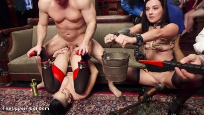 Photo number 8 from The Anal Initiation of Dallas Black shot for The Upper Floor on Kink.com. Featuring Dallas Black, John Strong and Rachael Madori in hardcore BDSM & Fetish porn.