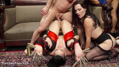 Photo number 11 from The Anal Initiation of Dallas Black shot for The Upper Floor on Kink.com. Featuring Dallas Black, John Strong and Rachael Madori in hardcore BDSM & Fetish porn.