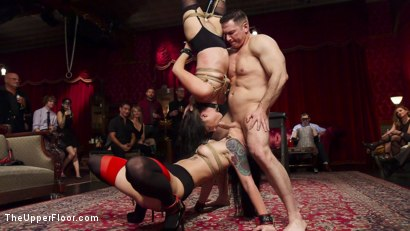 Photo number 4 from The Anal Initiation of Dallas Black shot for The Upper Floor on Kink.com. Featuring Dallas Black, John Strong and Rachael Madori in hardcore BDSM & Fetish porn.