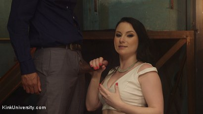 Photo number 3 from How to Give Mindblowing Handjobs shot for Kink University on Kink.com. Featuring Veruca James and Mickey Mod in hardcore BDSM & Fetish porn.