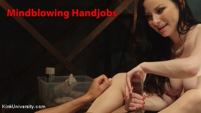 Photo number 20 from How to Give Mindblowing Handjobs shot for Kink University on Kink.com. Featuring Veruca James and Mickey Mod in hardcore BDSM & Fetish porn.